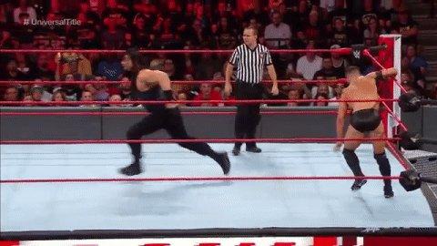Wherever you go, @WWERomanReigns, @FinnBalor WILL follow! #RAW #UniversalTitle