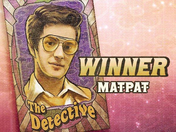 WINNER! 🎉 Congratulations @MatPatGT one of our #ETN3 survivors. 🎪 Binge the entire season three carnival here: youtube.com/playlist?list=…