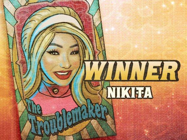 WINNER! 🎉 Congratulations @NikitaDragun one of our #ETN3 survivors. 🎪 Binge the entire season three carnival here: youtube.com/playlist?list=…