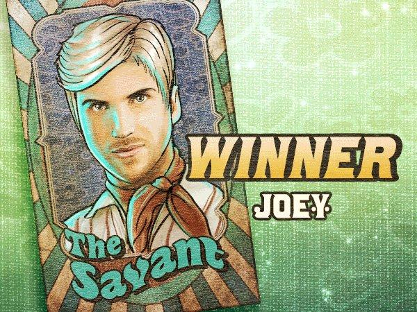 WINNER! 🎉 Congratulations to our host & #ETN3 survivor @JoeyGraceffa. 🎪 Binge the entire season three carnival here: youtube.com/playlist?list=…