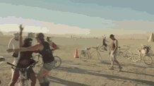 Image for the Tweet beginning: Time for 'Burning Man' -