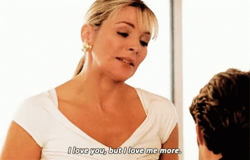 One of the many life lessons Samantha Jones can teach you