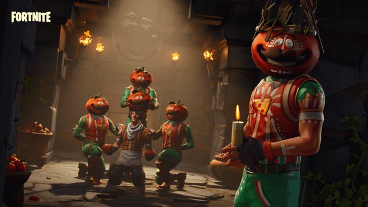 fortnite on twitter ascend to royale ty as tomatohead by completing the tomatohead challenges available for past and present owners of the outfit - fortnite elemental kings