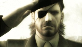 "\""Incoming message\"" \""push select\"" Happy birthday colonel Kojima !"