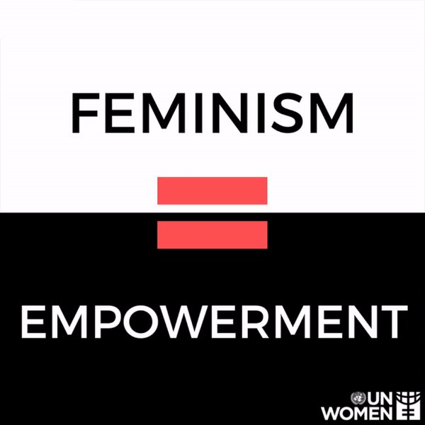 Image for the Tweet beginning: Feminist =  A person