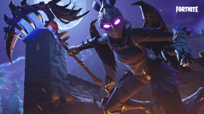 Fortnite On Twitter Shrouded By The Storm The New Ravage Outfit