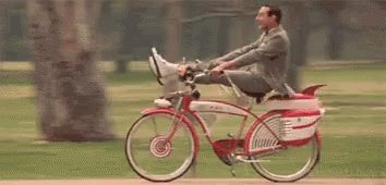 I picked the best day to finally watch Pee-Wee\s Big Adventure. Happy Birthday / Paul Reubens!