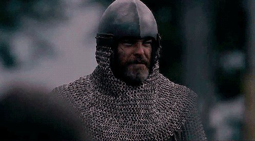 """""""You could fight for God,   or country,   or family.   I do not care,   so long as you...""""  #OutlawKing #ChrisPine #RobertTheBruce @clanranaldtrust @combatinternat #TIFF18 ⚔️🏴"""