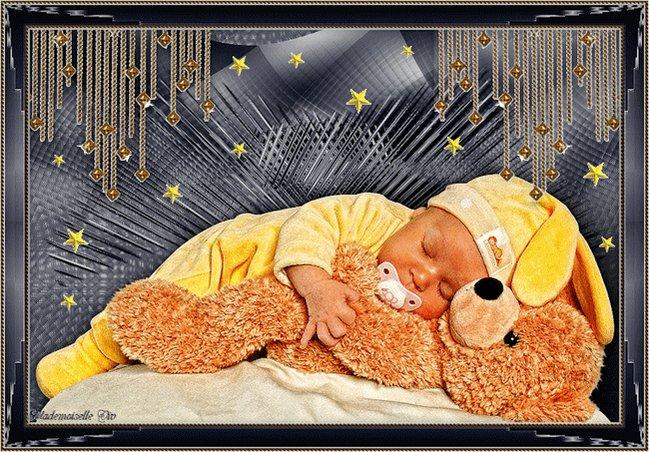 Всем, открытки доброй ночи малыш