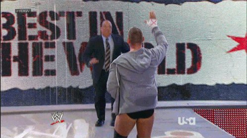 Ladies And Gentleman His Name Is Paul......Heyman & I Would Like To Say Happy Birthday