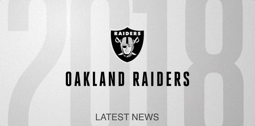 Oakland RaidersVerified account  Raiders 464503061c77