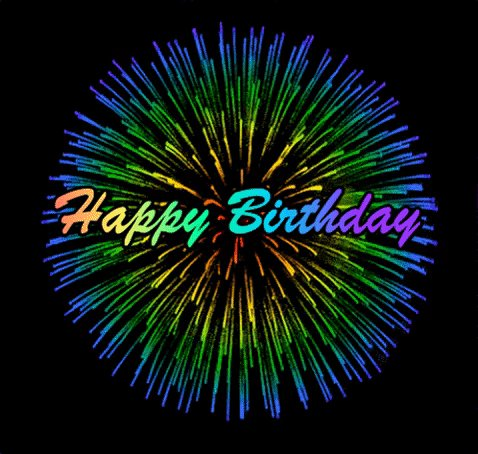 Happy birthday. Have a great and safe day.