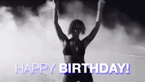 Happy birthday Queen B  You re the biggest inspiration to me