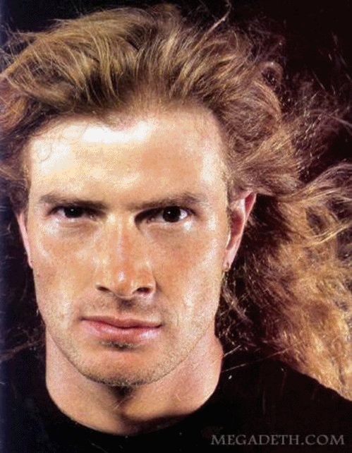 Happy birthday to Dave Mustaine of Megadeth.
