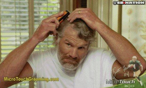 When Brett Favre heard that Aaron Rodgers went down