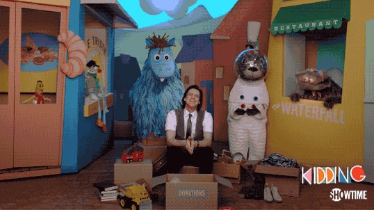 This was my favorite and most moving scene of this episode #Kidding. Many eyes in the room@were not dry
