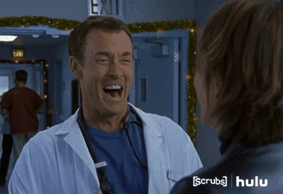 When you submit a urine sample and the nurse says the results are 'trickling in.'