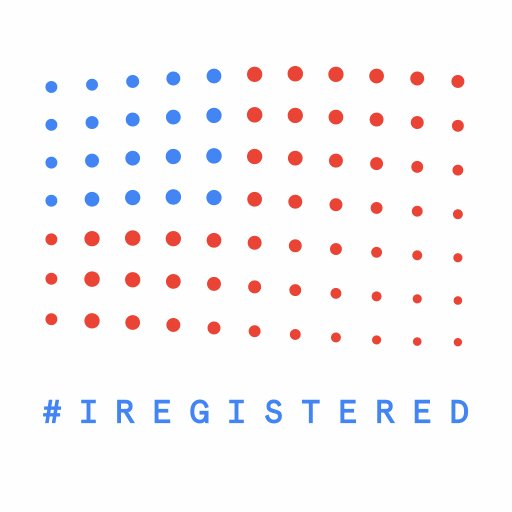 Image for the Tweet beginning: Happy #NationalVoterRegistrationDay Head to