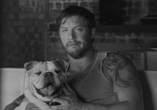Happy Birthday Tom Hardy ... drop in for birthday kiss anytime yer like