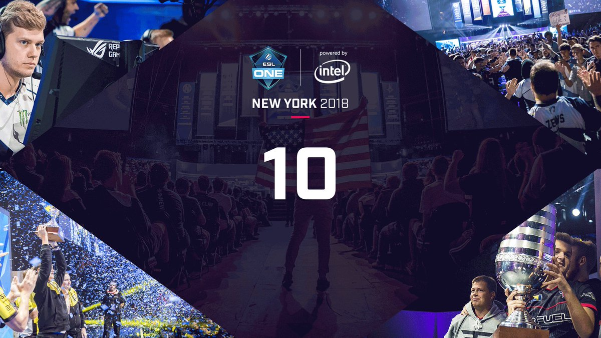 #ESLOne New York🗽 will put the best CS:GO players on Earth on the @barclayscenter main stage next week! Will you join them? 👇👇👇 esl.gg/ny2018