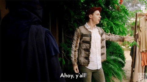 What time is it?? It's #DirkGently GIF time!
