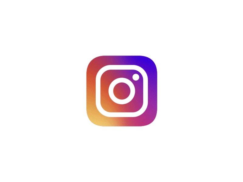 Новым, логотип инстаграм гифка