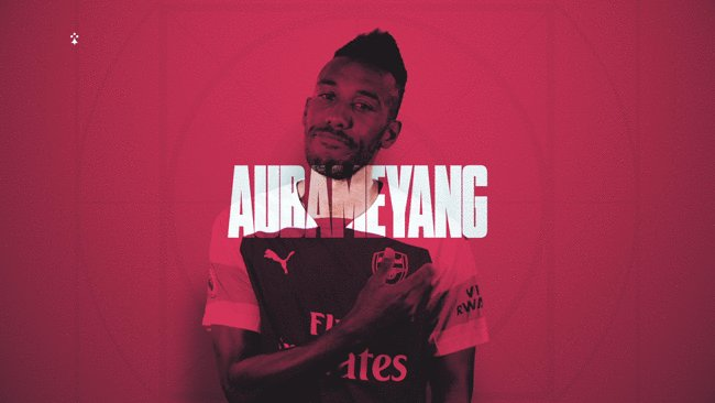 Arsenal FC's photo on Auba