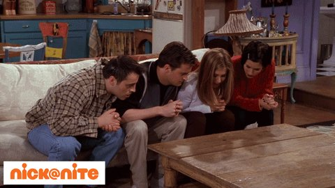 Friend: Aren't you guys getting tired of watching @FriendsTV Us at 11:35pm: