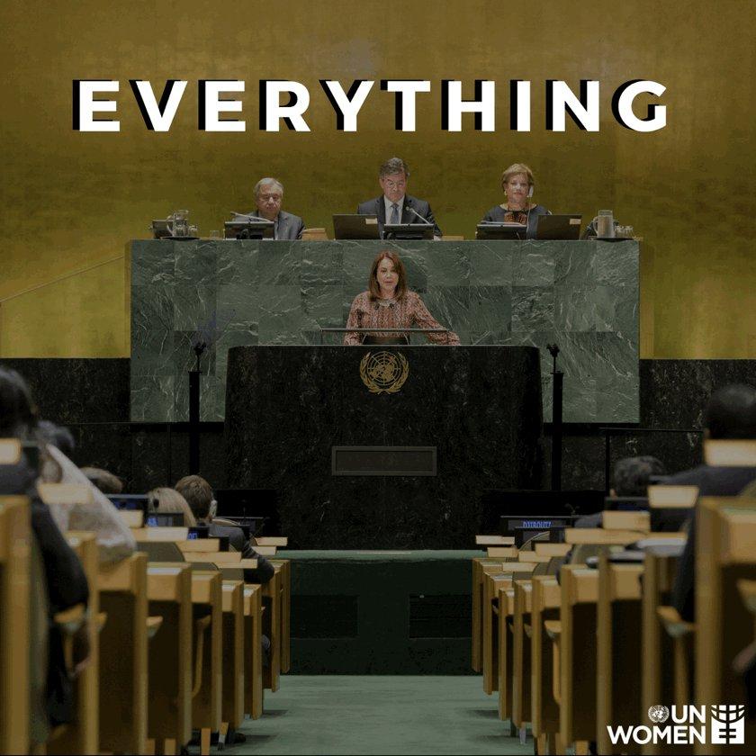 Image for the Tweet beginning: A better world for women