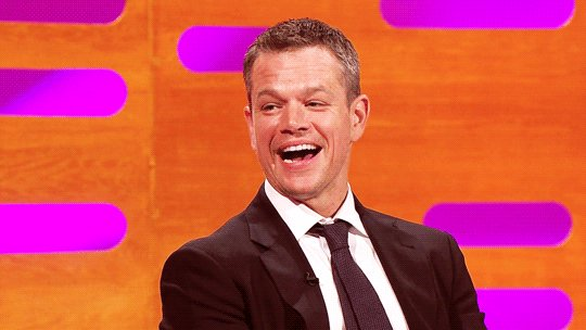 Happy Birthday to one of our favourites, Matt Damon