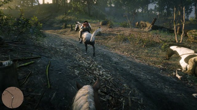 You can also experience Red Dead Redemption 2 in first person Watch the new Gameplay Video: youtube.com/watch?v=lb-tlY…