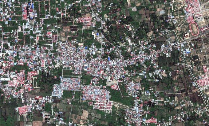 Keren, Google Image menyediakan Peta PALU Pasca Gempa untuk Relawan!