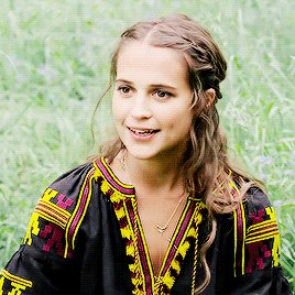 Happy birthday to the queen that is alicia vikander