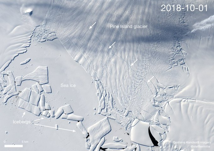Turismo Antartida: si el Iceberg se rompe,tendrá 300 km.cuadrados