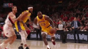 550b2a867b3 Flipboard  Reactions to LeBron s first two dunks as a Laker