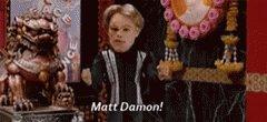 Happy Birthday Matt Damon!!!!