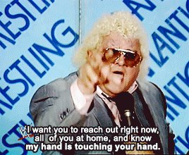 Happy Birthday Dusty Rhodes! Everyone needs a little American Dream in their lives. So good.