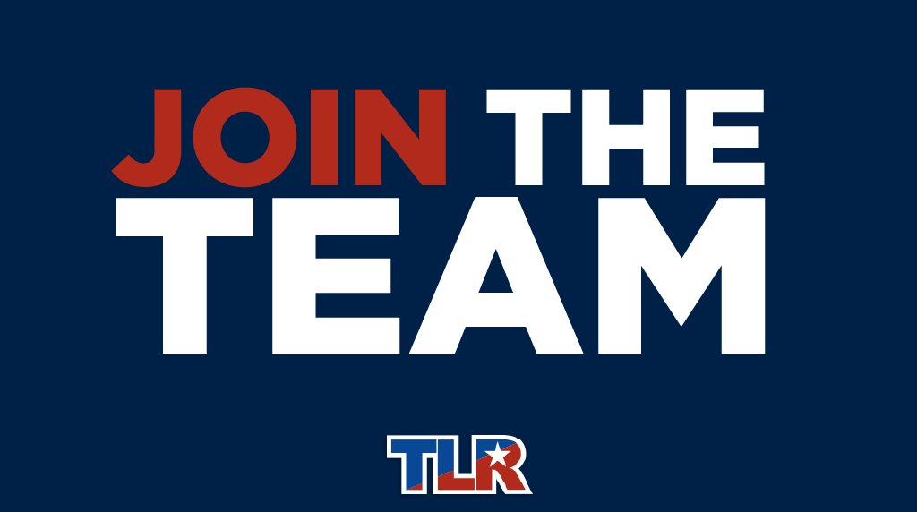 Image for the Tweet beginning: TLR has thousands of supporters