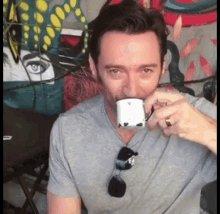 I love one (1) man. Happy birthday to actual human sunbeam Hugh Jackman.