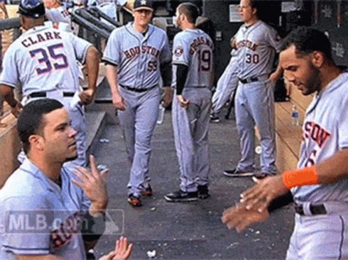 These #stros are fun to watch.