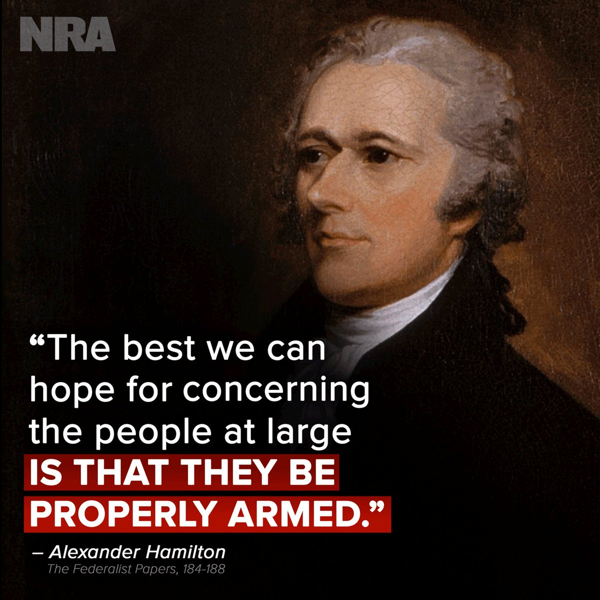 Who agrees with Alexander Hamilton? 🇺🇸