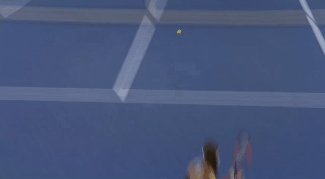 An example, Petko played an amazing point here, but Siniakova's reaction.. lol