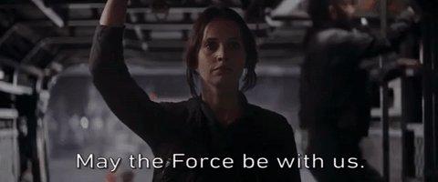 Happy birthday to our favorite rebel, Felicity Jones!!