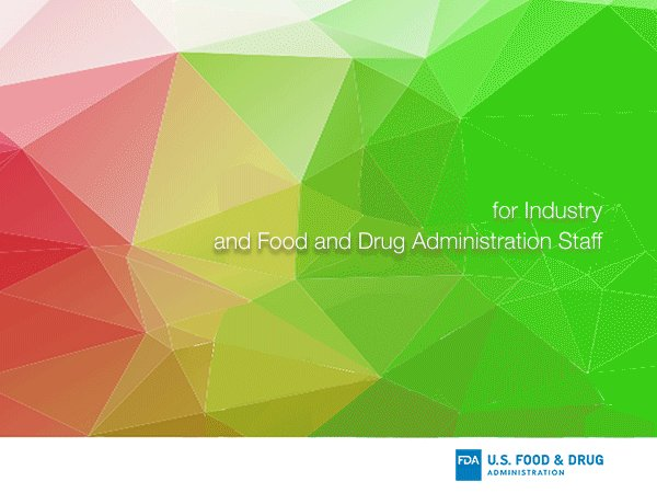 Image for the Tweet beginning: #FDA issues new draft guidance