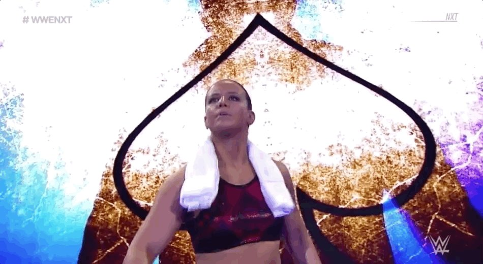 The #QueenOfSpades @QoSBaszler is in action on @WWENXT streaming RIGHT NOW on the award-winning @WWENetwork! wwe.me/57D0E7 #WWENXT