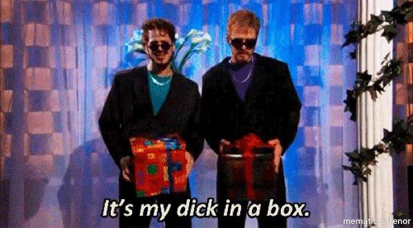 Box dick in justin skit snl timberlake