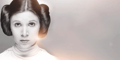 Happy Birthday to our General, Carrie Fisher!