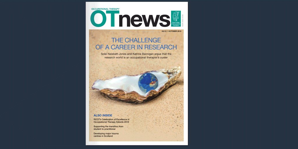 Image for the Tweet beginning: Have you read October's @OTnews?