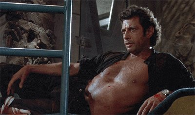 Happy birthday, Jeff Goldblum! You rock our Jurassic world.