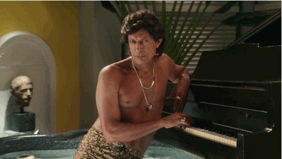 Uh... happy birthday to uh, uh... Jeff Goldblum